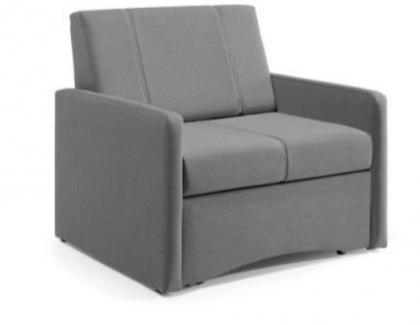 Jednoosobowy fotel z funkcją spania — praktyczny i wygodny
