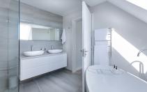 Łazienka w białym kolorze